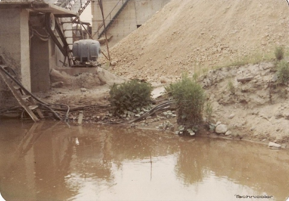 Sand pit and swimming holes 2 Burlington MA.