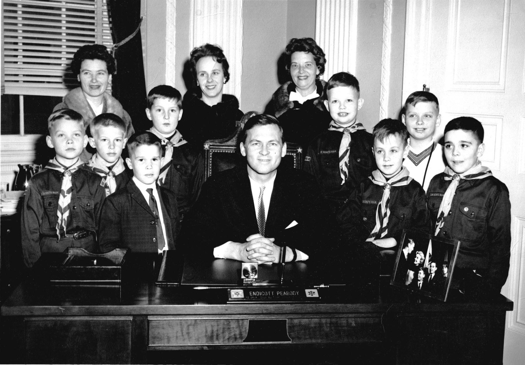 Sarah Street Boy Scouts c. 1962, Burlington MA