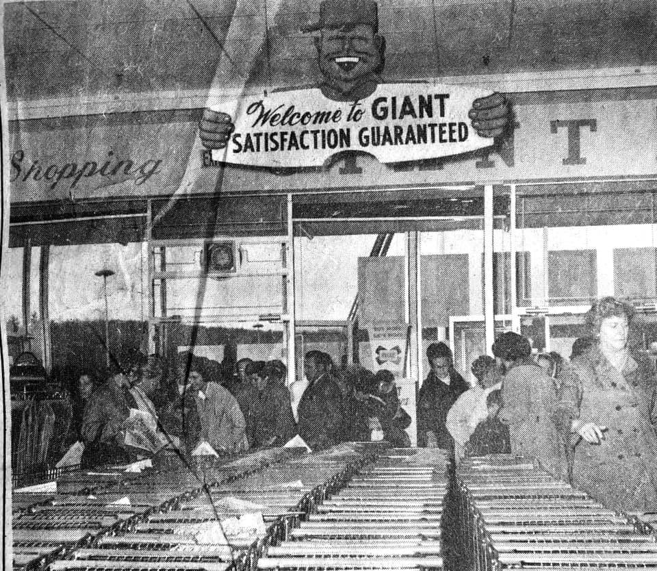 Giant store grand opening Woburn MA