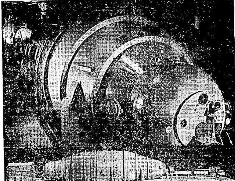 High Voltage Engineering trans-uranic accelerator, Burlington MA