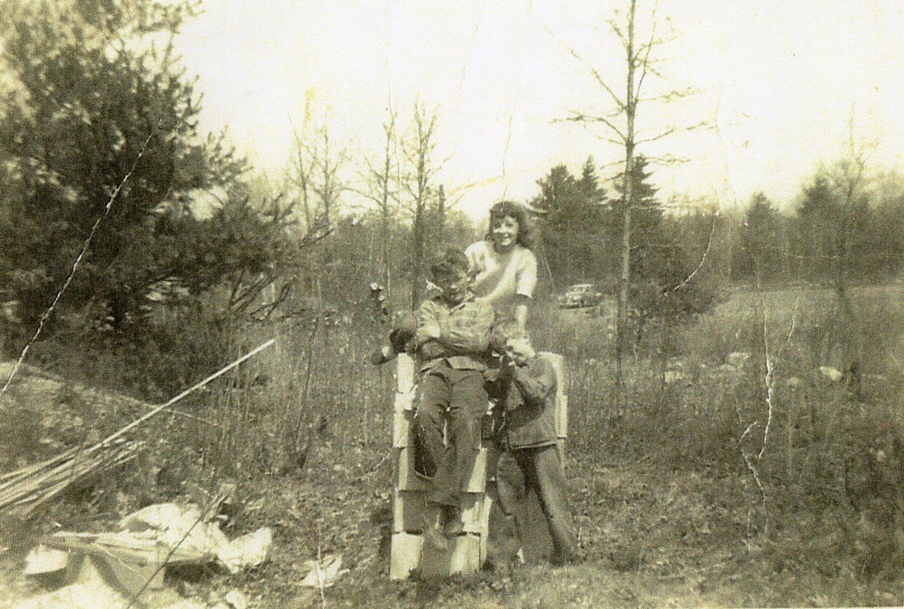 Carl, Carly and Herb Johnson, Burlington MA