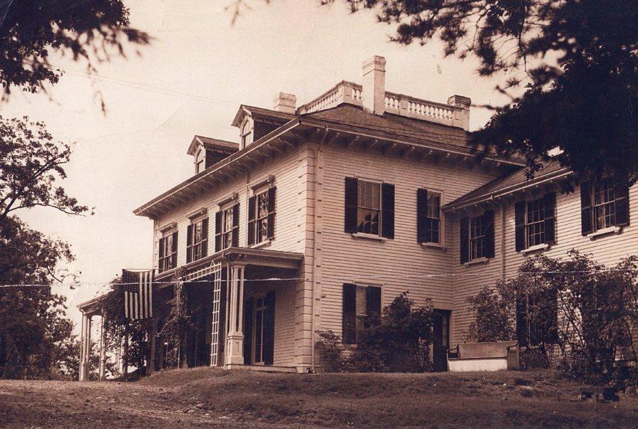 Frothingham/Rupprect house Around 1947, Burlington MA