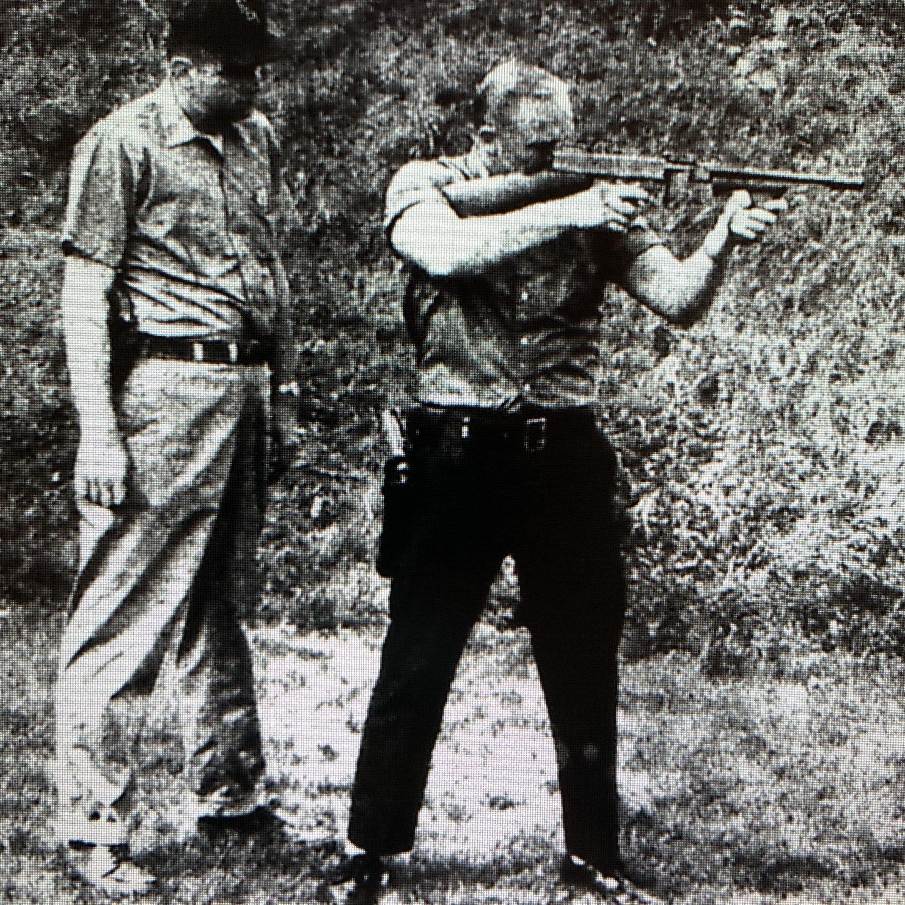 Officer Richard Sheppard in training, Burlington MA