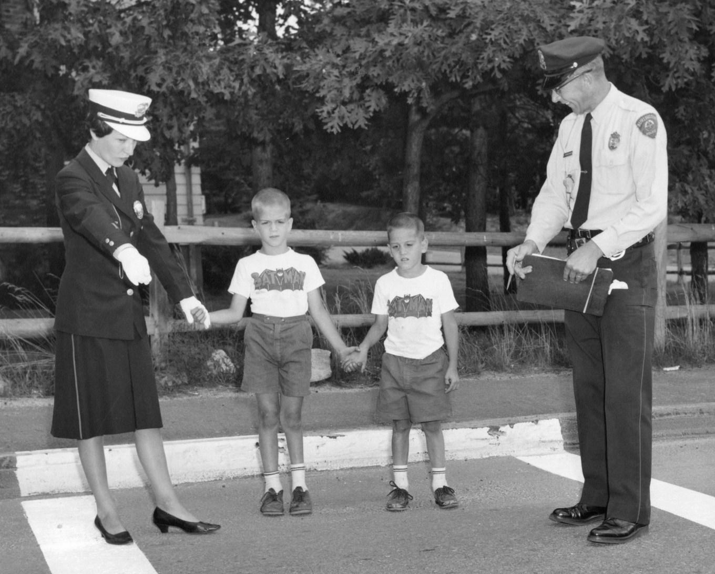 Putnam with boys