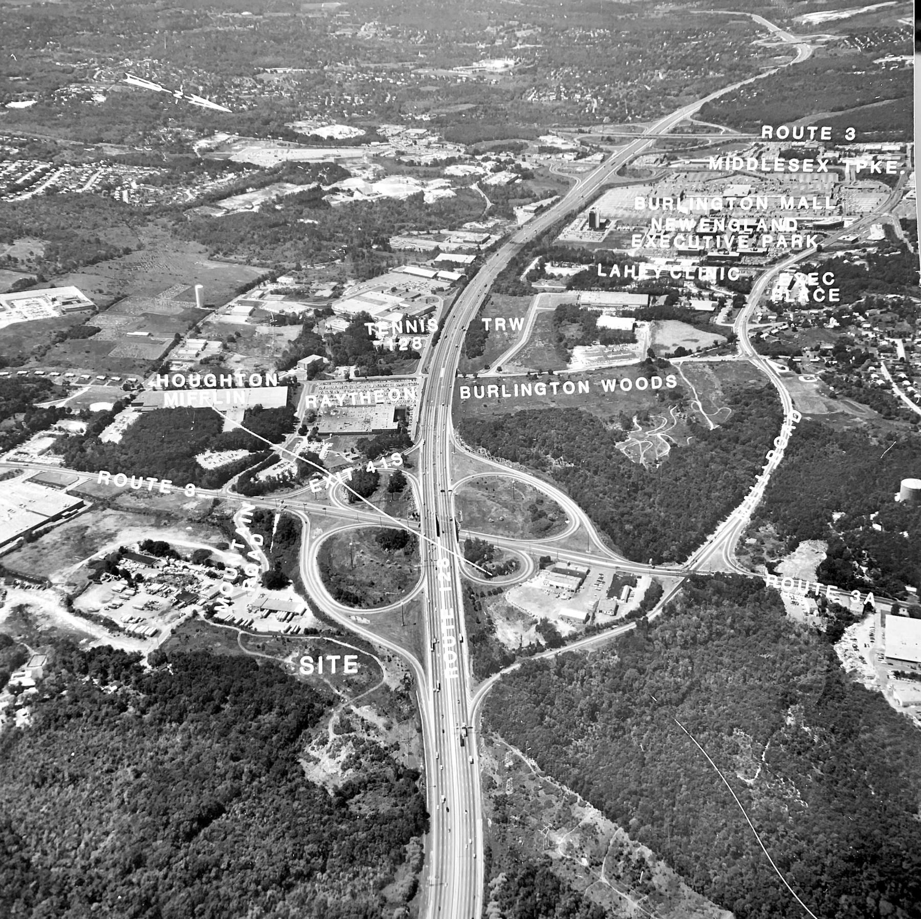 Route 128, Cambridge Street and Burlington Mall Road