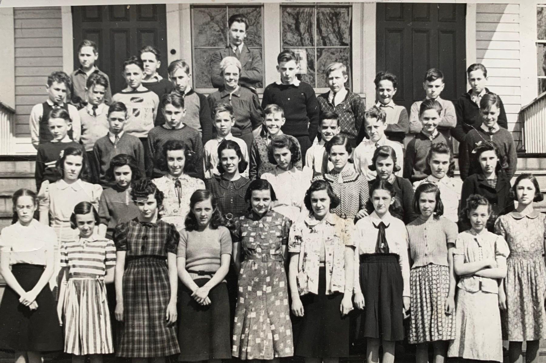 Union School 1939 Burlington MA