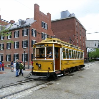 Lowell Streetcar display