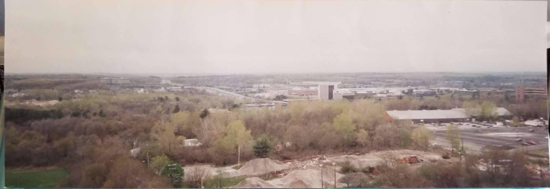 1999 panorama from Blanchard Rd. water tower, Burlington MA