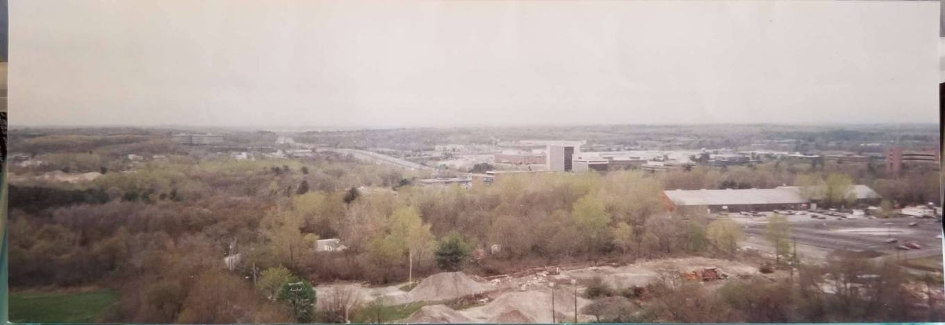 1999 panorama from Blanchard Rd. water tower, Burlington MA