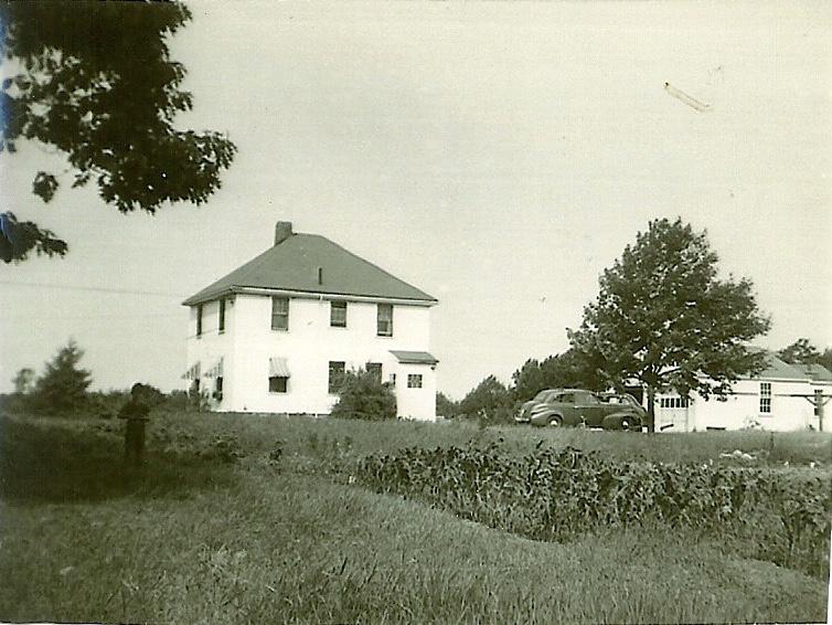 Chandler/Ellery house early 1960s Burlington MA
