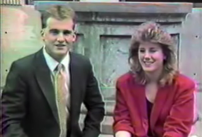 Paul McGonagle and Kim Corbett BHS 1986 video Burlington MA