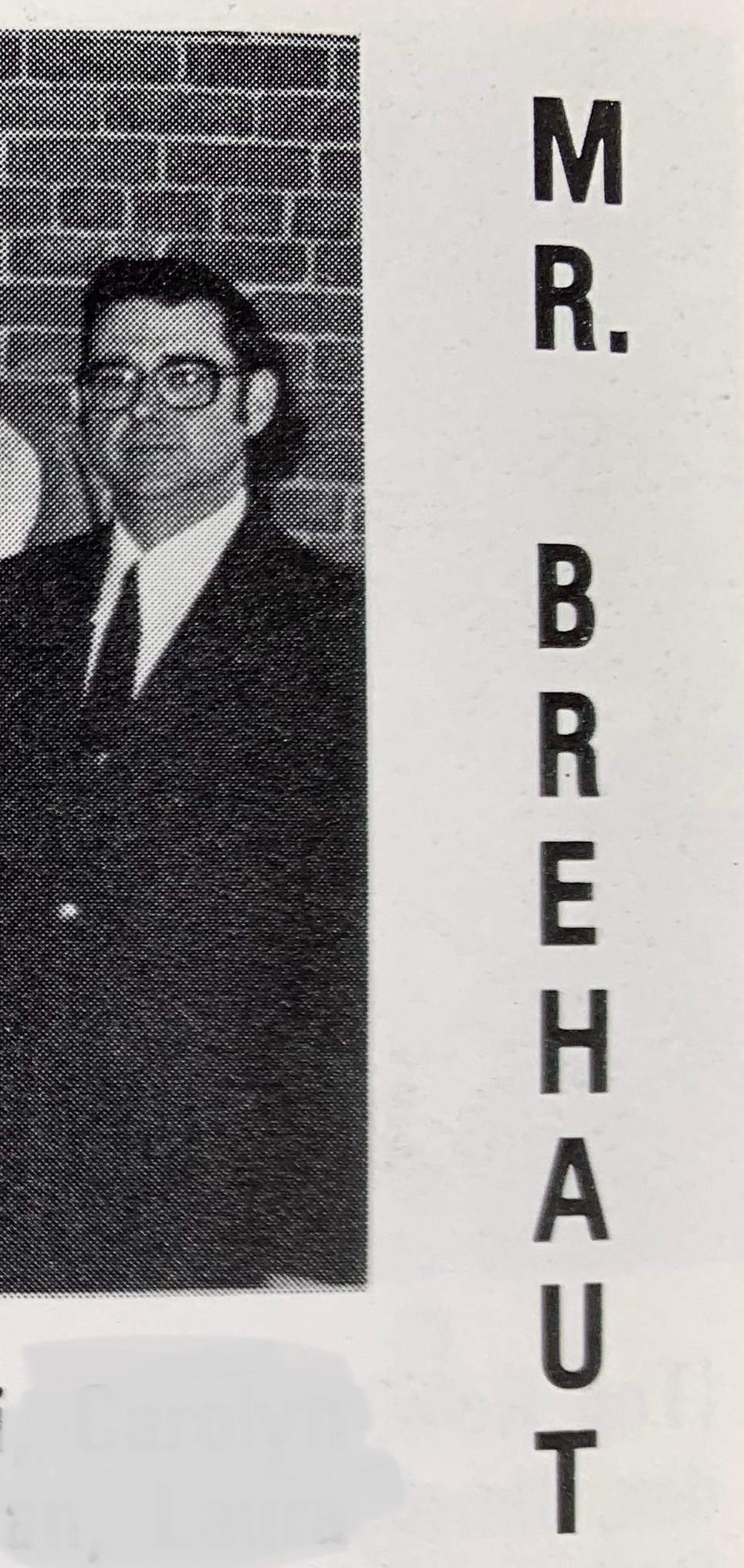 Marshall Simonds Middle School yearbook (Brehaut)