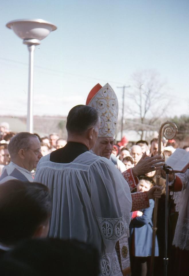St. Malachy's dedication Burlington MA