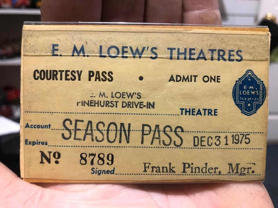E.M. Leow's Pinehurst season pass