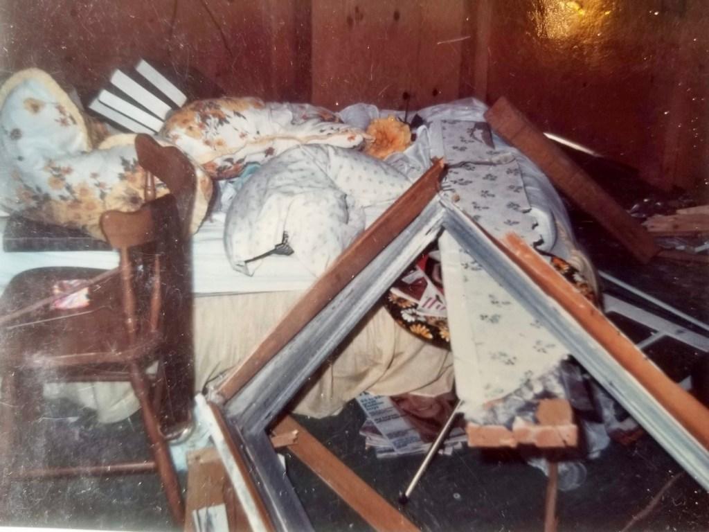 Betty Virgin's bedroom