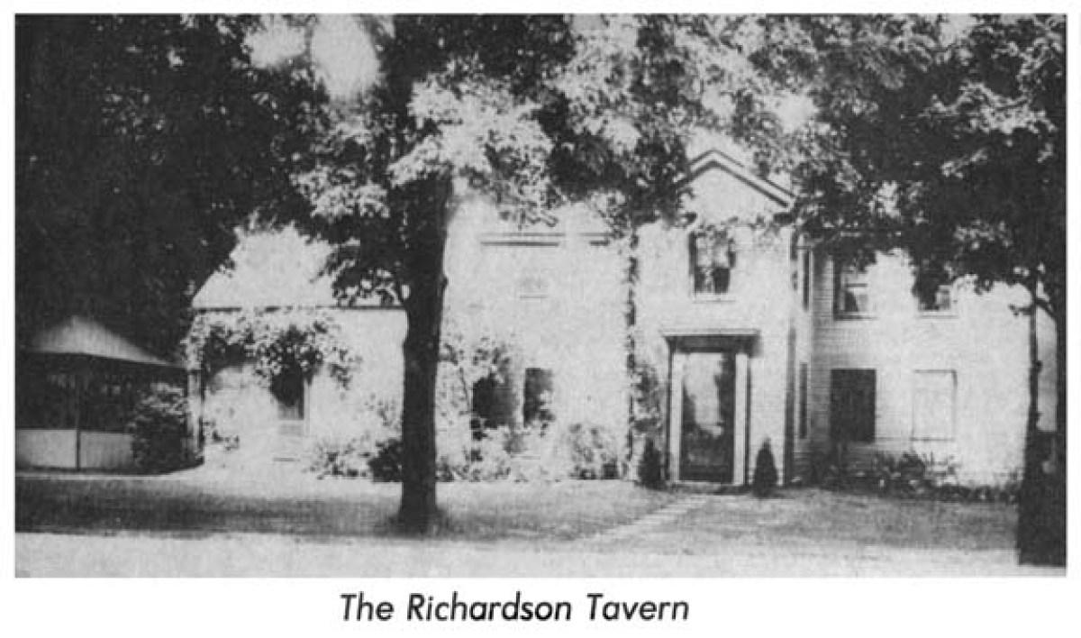 The Richardson Tavern Burlington MA