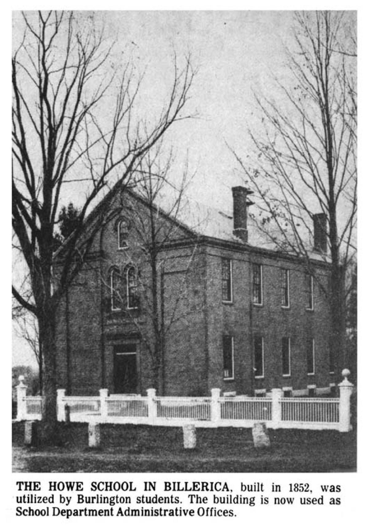 Howe School, Billerica, MA