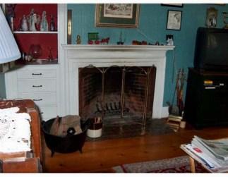 121 Lexington Street fireplace