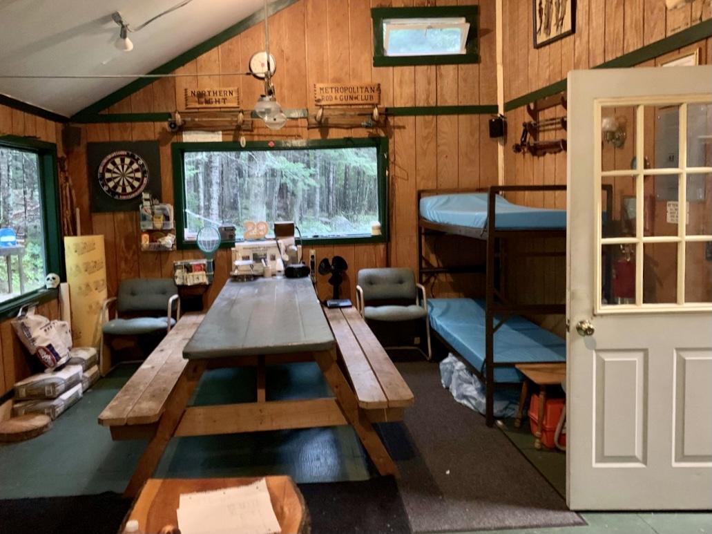 Metropolitan Rod&Gun Club (interior), Albany NH