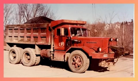 Thorstensen & Parker truck 1, Burlington MA