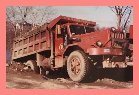 Thorstensen & Parker truck 2, Burlington MA