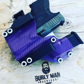 Purple Carbon Fiber and Arctic White