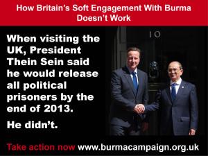 soft engagement doesn't work political prisoners burma campaign UK.JPG