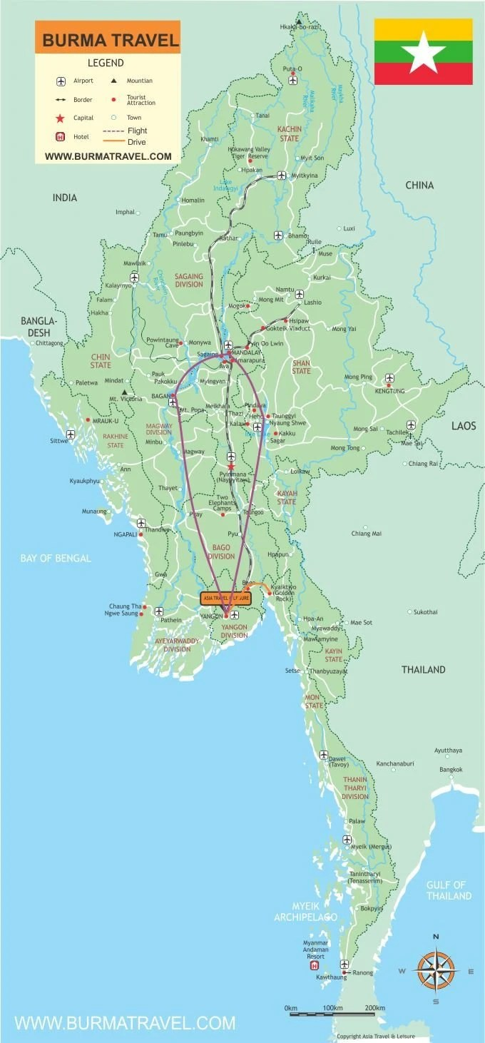 Map-Highlights-Of-Myanmar