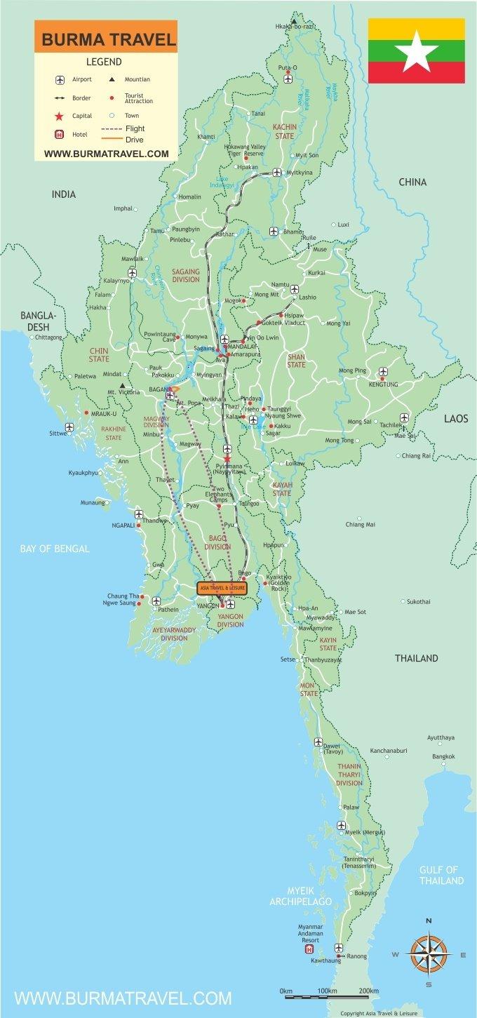 Map-Bagan-Escape