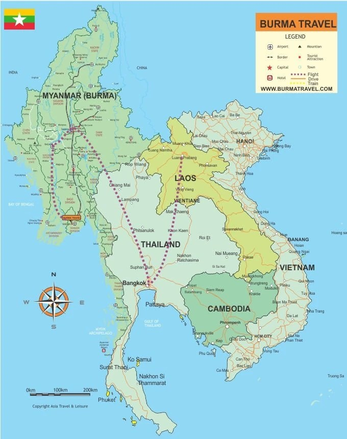 Map-Heritages-Myanmar-Laos
