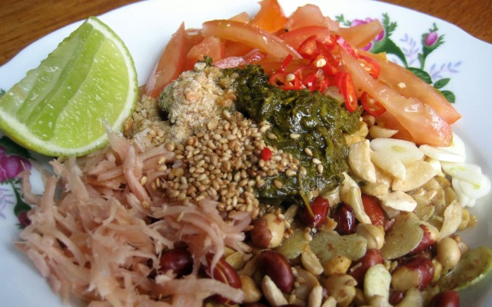 Lahpet Thoke Yangon Street Food