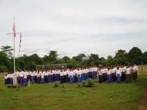 မွန်အမျိုးသားပညာရေးဌာနမှကျောင်းသားများ(Photo-MNEC)