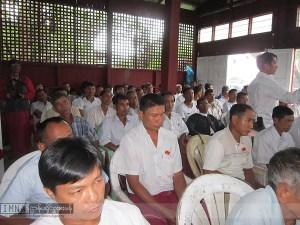 မွန်ဒီမိုကရေစီပါတီသံဖြူဇရပ်မြို့နယ်အလုပ်အမှုဆောင်ဖွဲ့စည်းခဲ့စဉ်