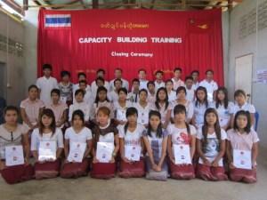 သင်တန်းသားများနှင့် ဆရာများ(IMNA)