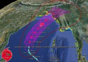 မဟာဆံမုန်တိုင်းနှင့်ပတ်သက်၍ JWCT၏ ယနေ့ဖေါ်ပြချက်(JWCT)