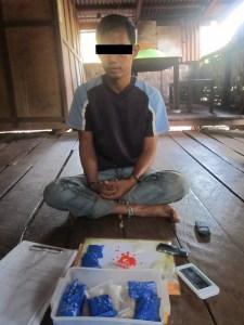 မူးယစ်ဆေးများနှင့်အတူ ဖမ်းဆီးထားပုံ (BNA)