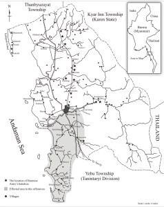 ရေးမြို့နယ်မြေပုံ (IMNA)