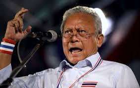 """ထိုင်းအစိုးရဆန့်ကျင်ရေး ဆန္ဒပြအတိုက်အခံခေါင်းဆောင် """"ဆူထစ်သေ့ဆုဘာန်"""""""