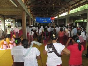 ဘုရားသုံးဆူဘုန်းတော်ကြီးကျောင်း နိုင်နွန်လာအောက်မေ့ဘွယ်အခမ်းအနား(IMNA)