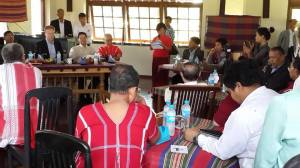 နော်ဝေးနိုင်ငံခြားရေးဝန်ကြီး ပဲခူးမြို့သို့ရောက်ရှိခဲ့စဉ်(Nyo Ohn Myint)