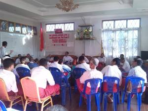 မွန်အမျိုးသားပါတီဗဟိုကော်မတီ အစည်းအဝေး အပတ်စဉ် ၄/၂၀၁၄(MNP)