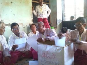 MNP မုဒုံမြို့နယ်ကိုယ်စားလှယ် ရွေးချယ်နေစဉ်(MNP Facebook)