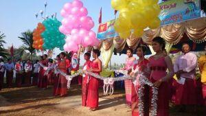 မွန်အမျိုးသားနေ့လှေလှော်ပြိုင်ပွဲဖွင့်ပွဲအခမ်းအနား(ကျော်နိုင်)