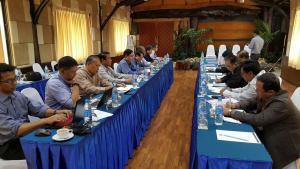 UPWC နှင့် NCCT တို့ဆွေးနွေးစဉ်(Nyo Ohn Myint)