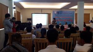 သံလွင်ထိန်းသိမ်းရေးကွန်ယက်သတင်းစာရှင်းလင်းပွဲ(IMNA)