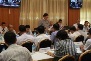 ဝန်ကြီးဦးအောင်မင်း ရှင်းလင်းပြောကြားစဉ်(MPC)
