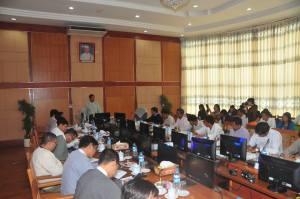 ပြန်ကြားရေးဝန်ကြီးနှင့် တိုင်းရင်းမီဒီယာများတွေ့ဆုံစဉ်(MOI)