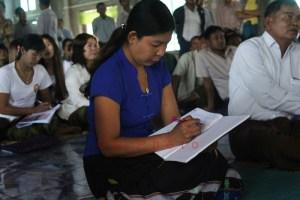 ကျေးရွာအုပ်ချုပ်ရေးမှူးသစ် မိဂျလွန်းထော(ခ)မိသန်းဌေး(MNA)