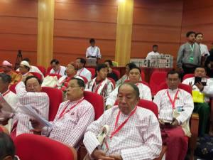 ပြည်ထောင်စုငြိမ်းချမ်းရေးညီလာခံ တက်ရောက်သော မွန်နိင်ငံရေးပါတီ ခေါင်းဆောင်များ(Kyaw Zayra Oo)