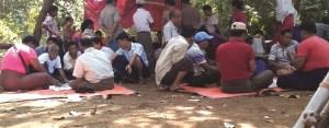ကံပေါက်နယ် ကျေးရွာတစ်ရွာမှ လောင်းကစားဝိုင် (Mon Htaw)